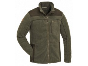 5067 702 fleece jacket prestwick exklusive olive mel suede brown