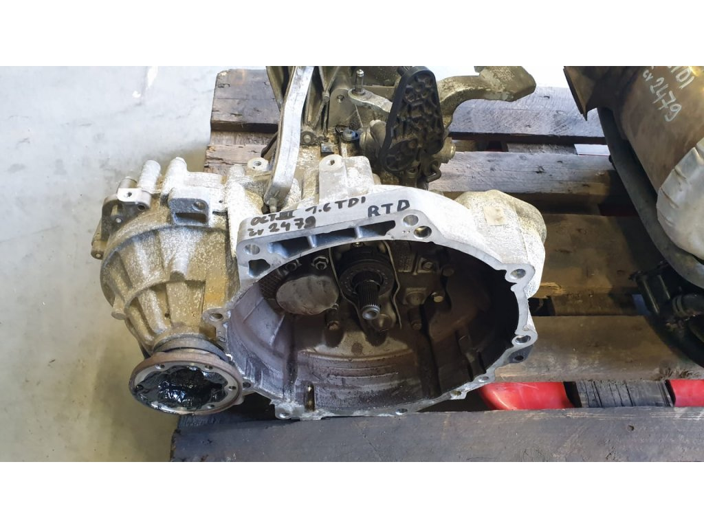 Převodovka Škoda Octavia III 1.6 tdi RTD