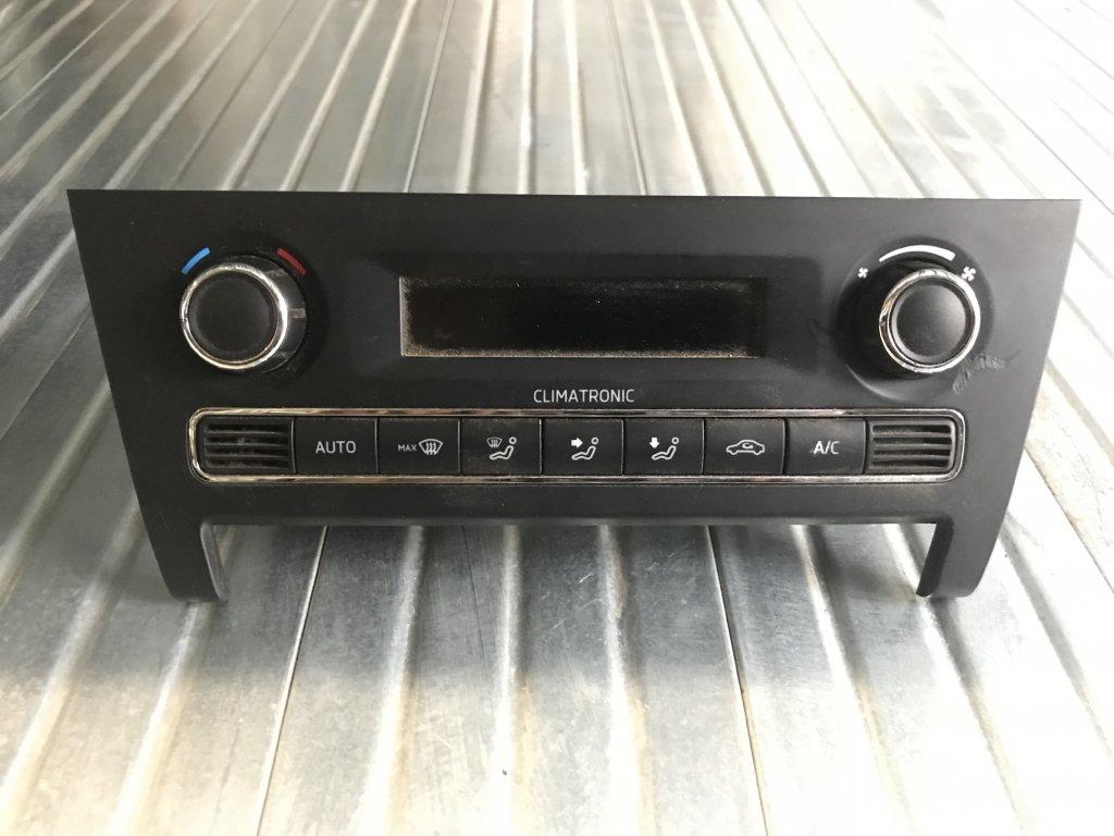 Ovládání topení 5JA 907 044  Škoda Rapid