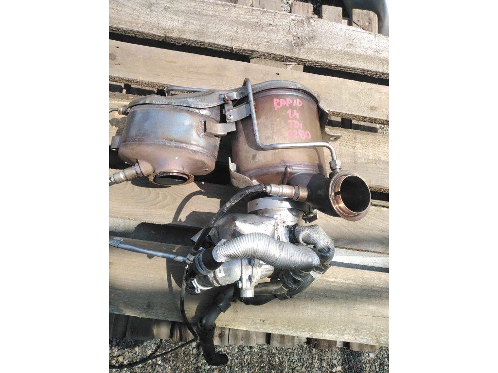 Katalyzátor, DPF filtr Škoda 1.4TDI 04B 131 765 B
