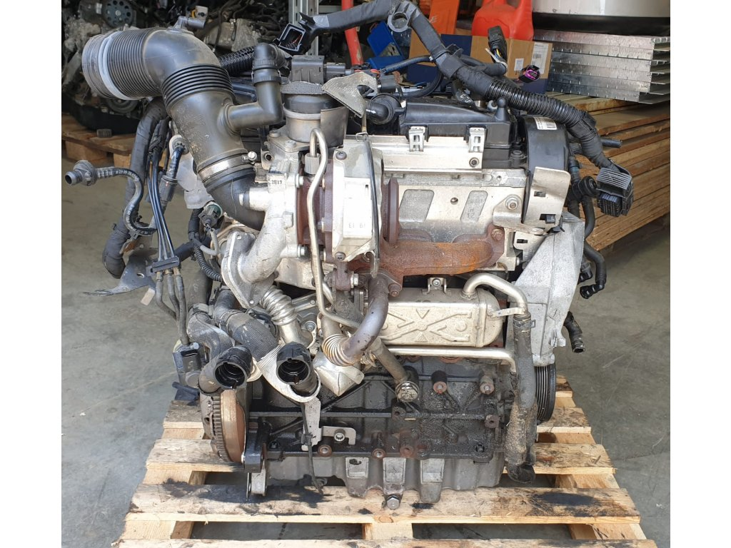 Motor Škoda 1.6TDI CAY