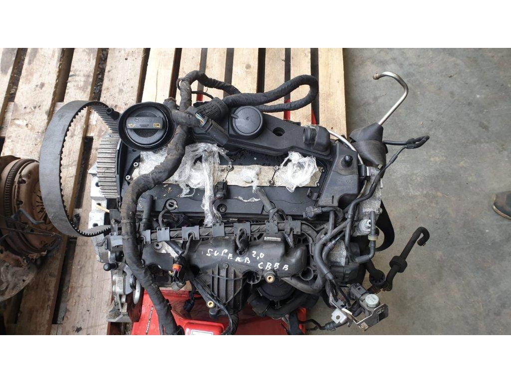 Motor Škoda 2.0 TDI 125kw CBBB