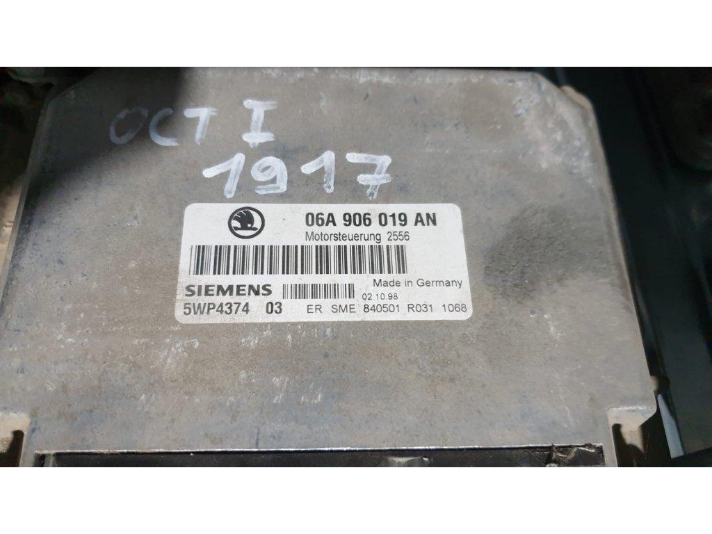 Řídící jednotka motoru Škoda 06A 906 019 AN