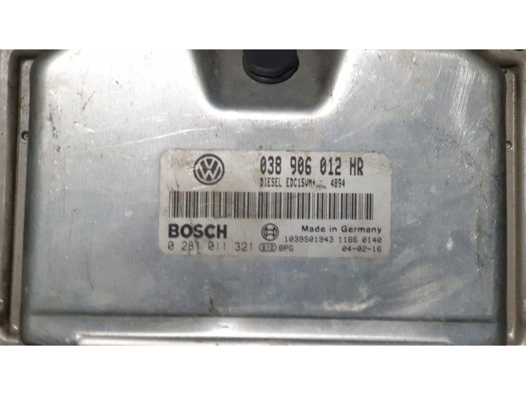 Řídící jednotka motoru Škoda 038 906 012 HR