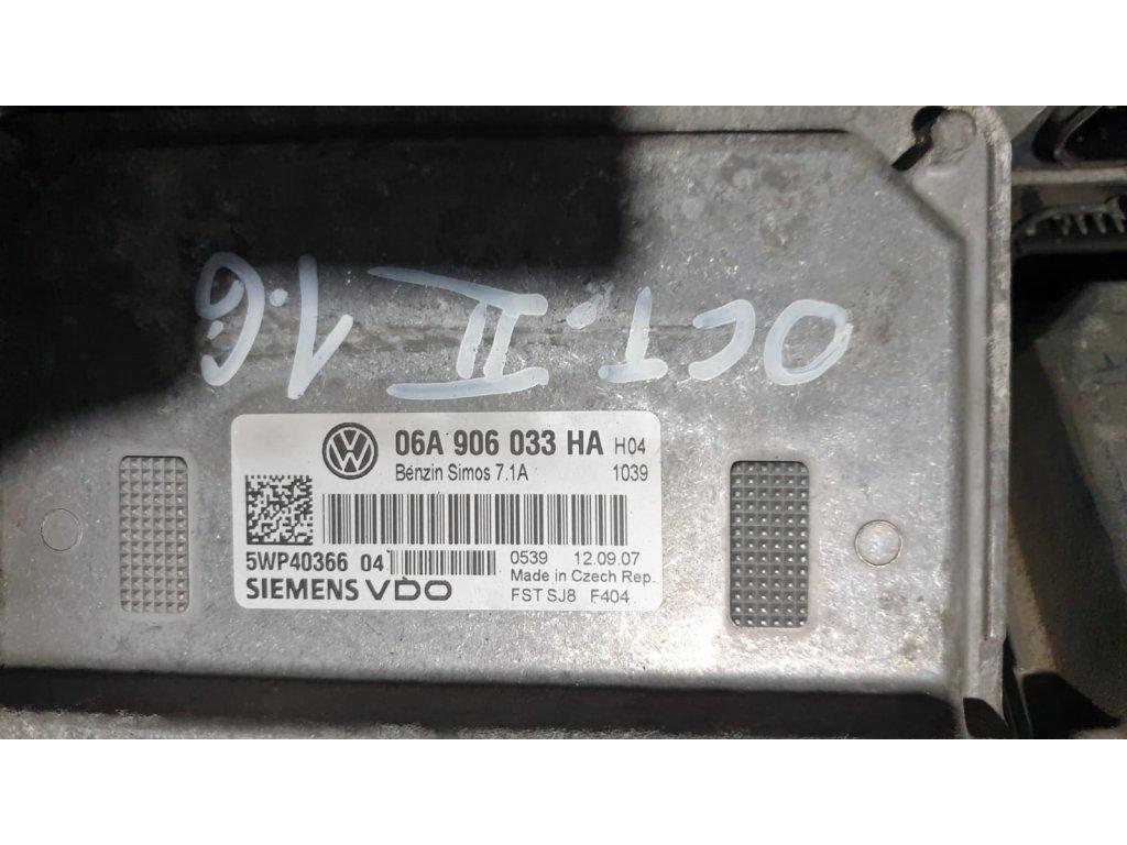 Řídící jednotka motoru Škoda 06A 906 033 HA