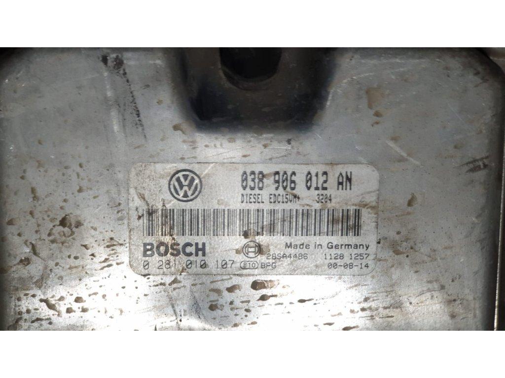 Řídící jednotka motoru Škoda 038 906 012 AN