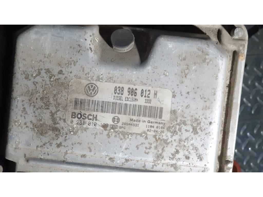 Řídící jednotka motoru Škoda 038 906 012 H