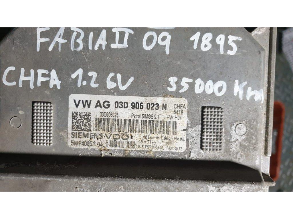 Řídící jednotka motoru Škoda 03D 906 023 N