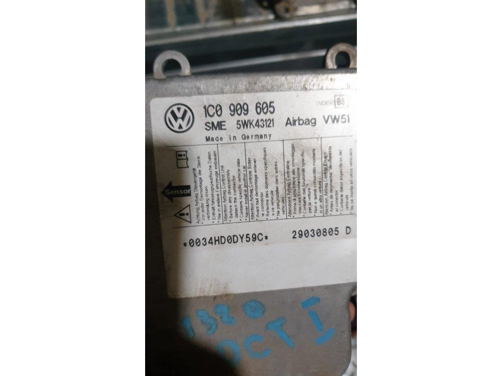 Řídící jednotka airbagu 1C0 909 605