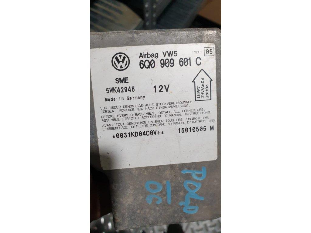 Řídící jednotka airbagu 6Q0 909 601 C