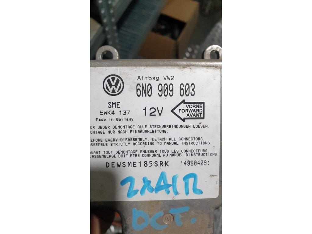 Řídící jednotka airbagu 6N0 909 603