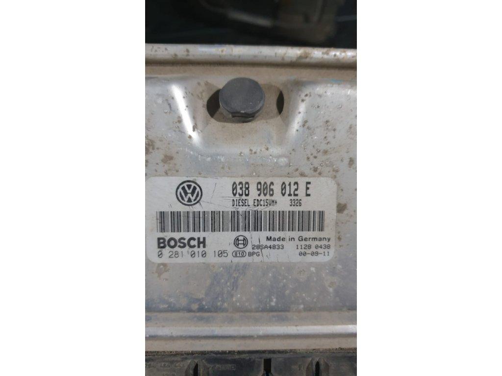 Řídící jednotka motoru 038 906 012 E