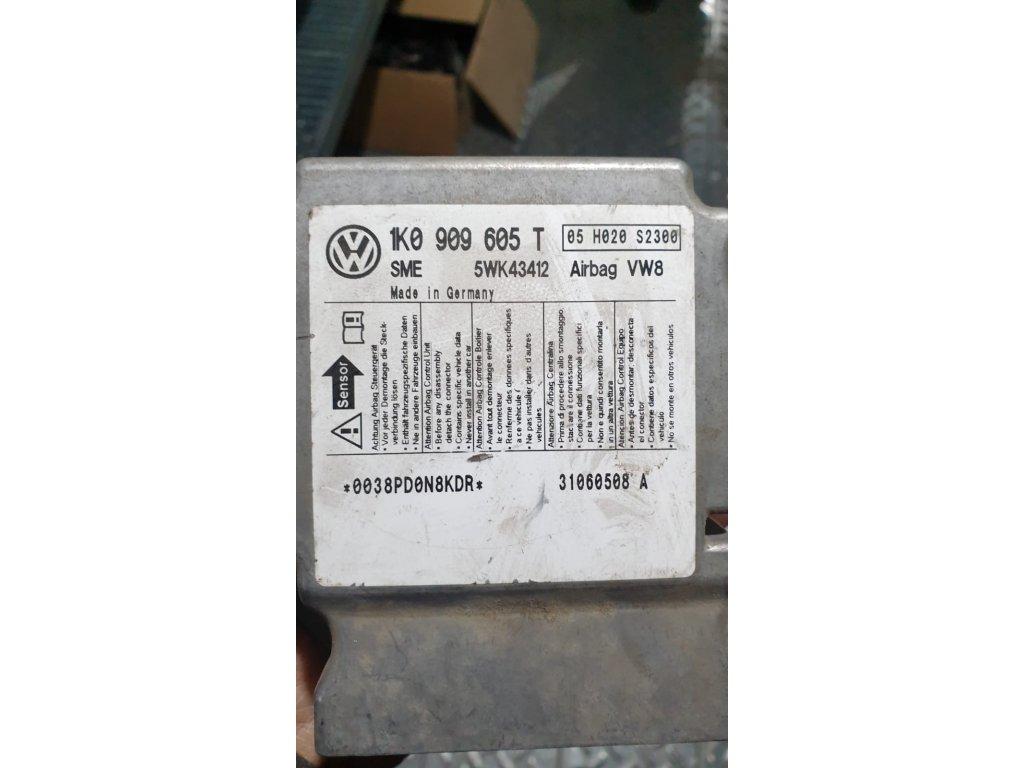 Řídící jednotka airbagu 1K0 909 605 T
