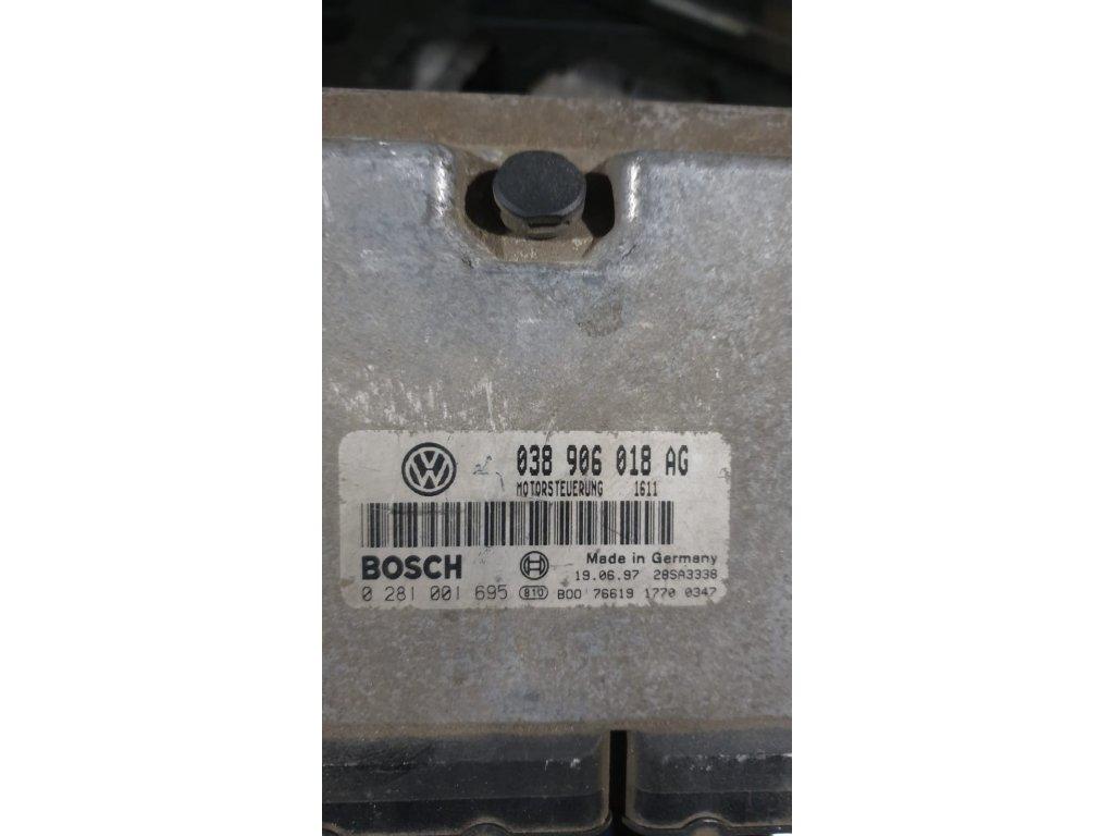 Řídící jednotka motoru 038 906 018 AG