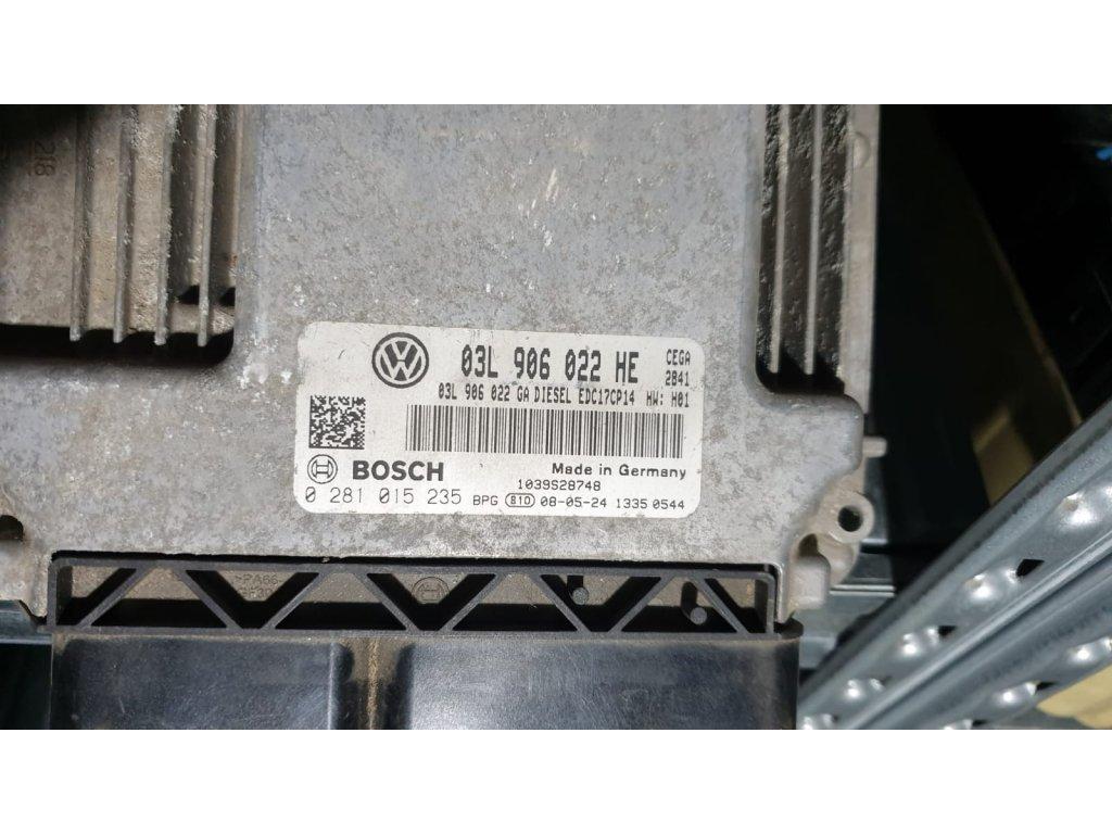 Řídící jednotka motoru 03L 906 022 HE