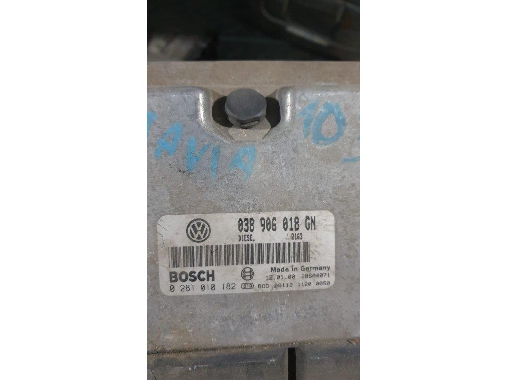Řídící jednotka motoru 038 906 018 GN