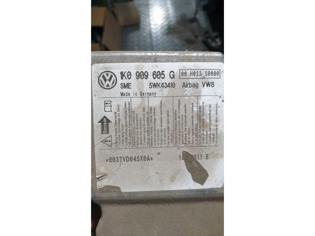 Řídící jednotka airbagu 1K0 909 605 G