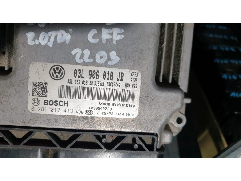 Řídící jednotka motoru 03L 906 018 JB