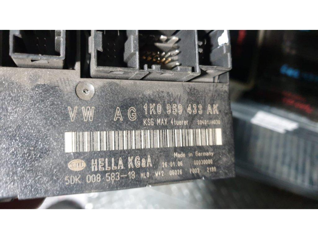 Řídící jednotka komfortu 1K0 959 433 AK