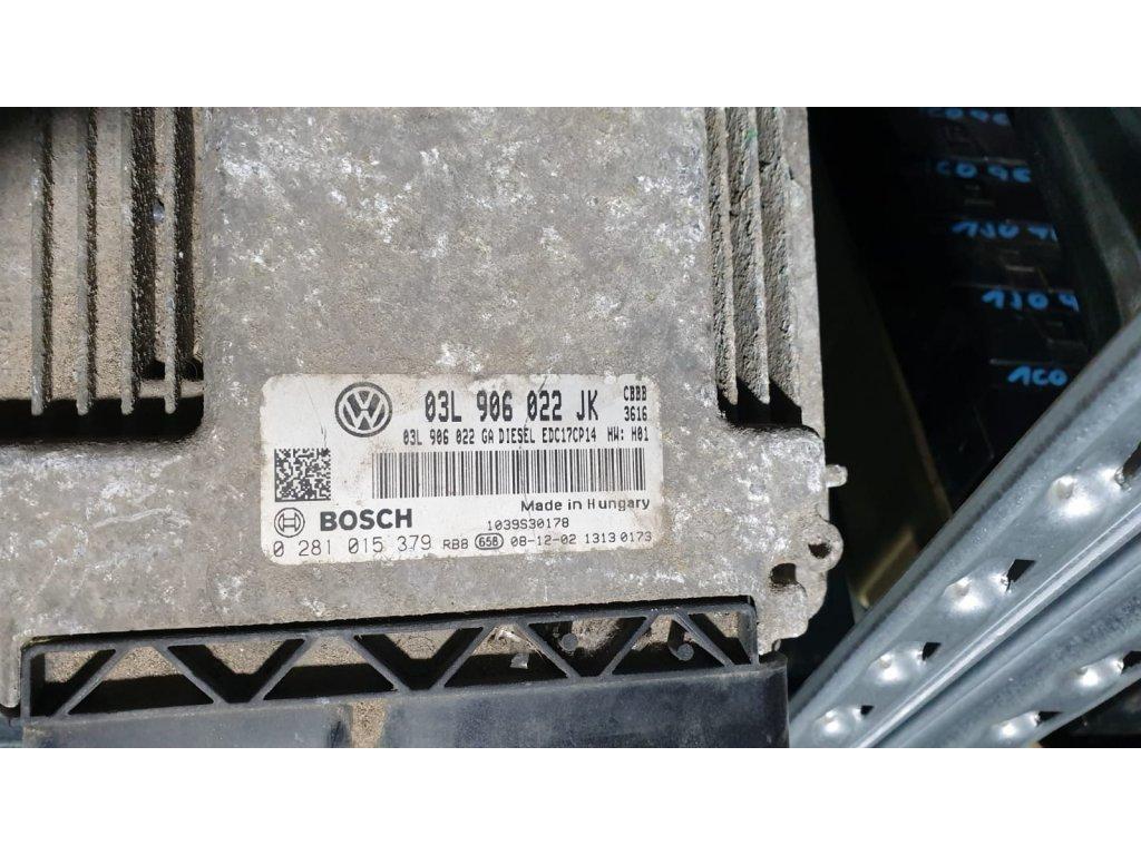 Řídící jednotka motoru 03L 906 022 JK