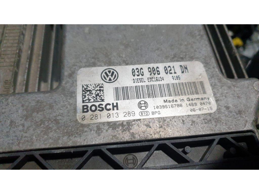 Řídící jednotka motoru Škoda 03G 906 021 DN
