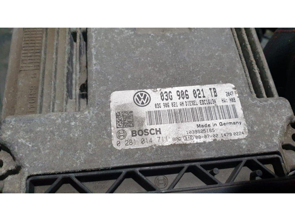 Řídící jednotka motoru 03G 906 021 TB