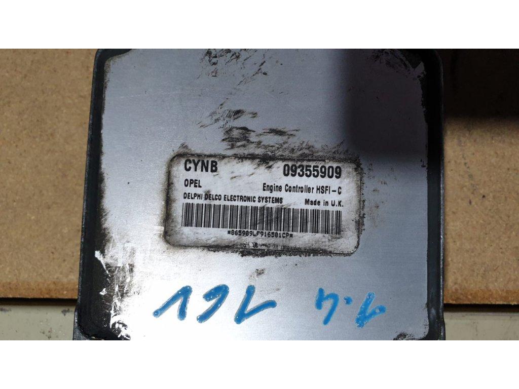 Řídící jednotka motoru Opel Astra 09355909
