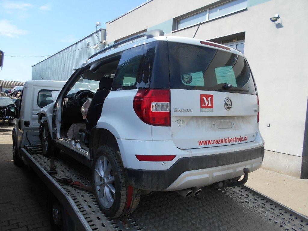 Náhradní díly Škoda Yeti 2.0 TDI DSG motor DFS