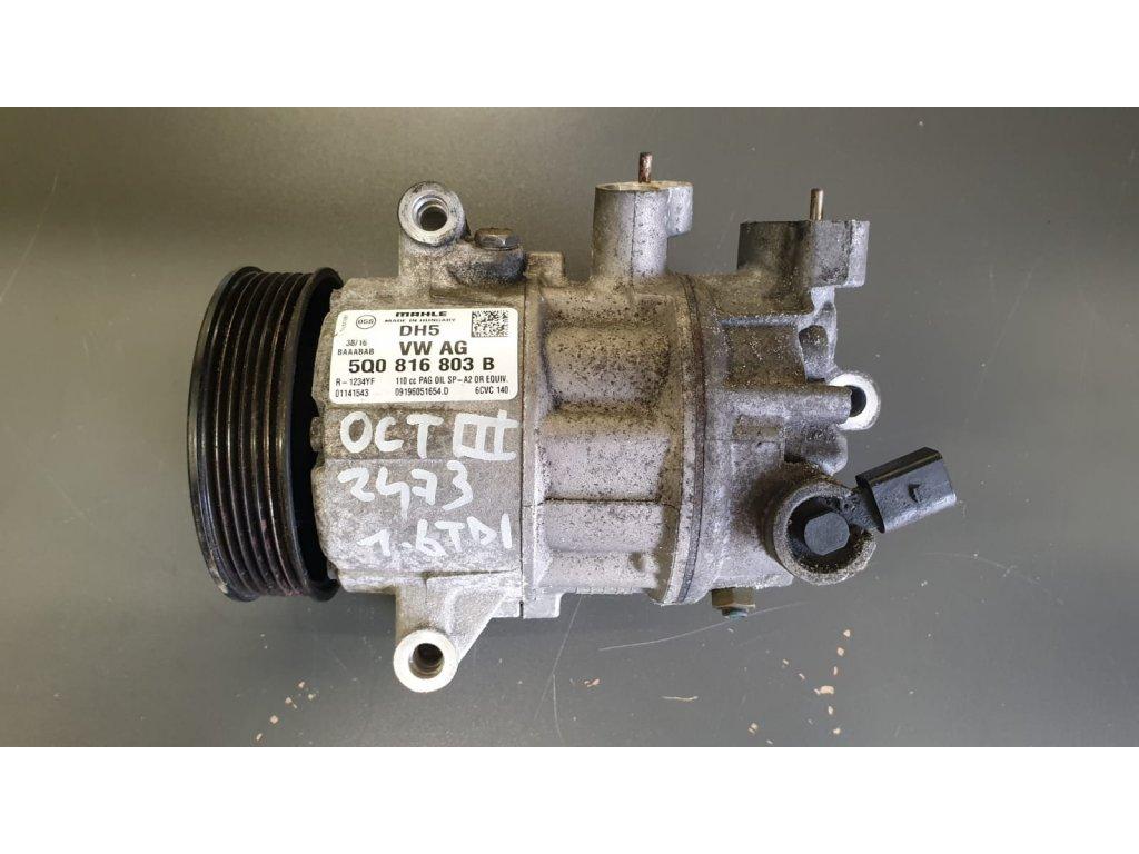 Kompresor klimatizace Škoda 5Q0816803B