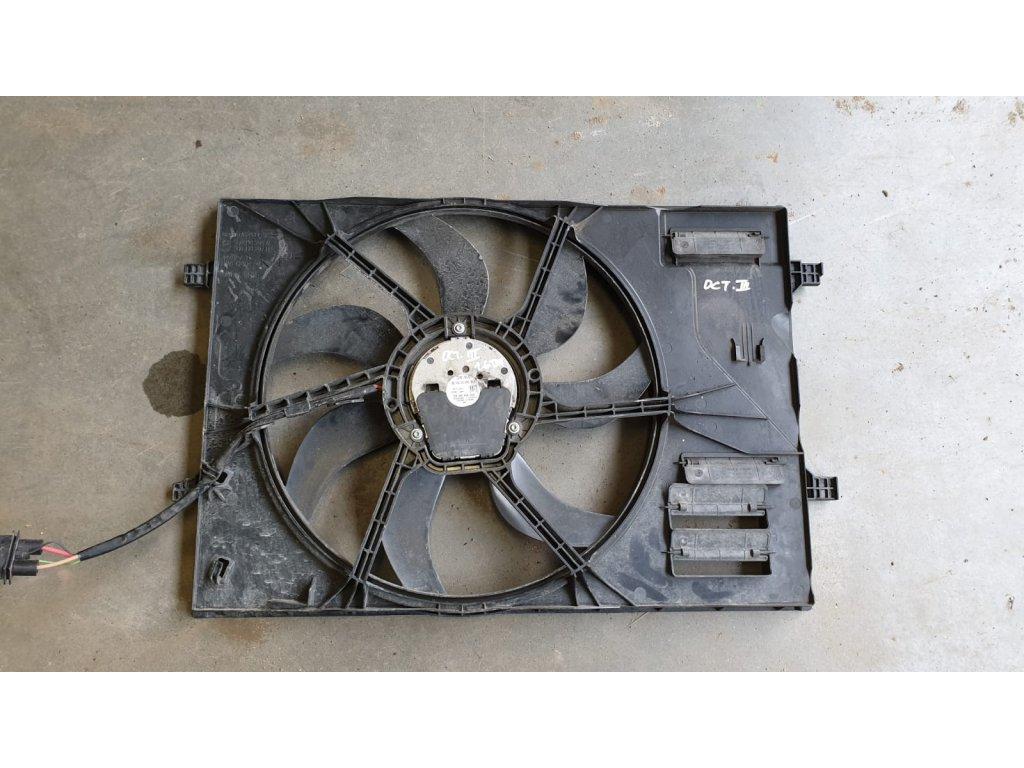 Věnec ventilátoru + ventilátor chladiče Originál 5Q0121205AL, 5Q0959455BG