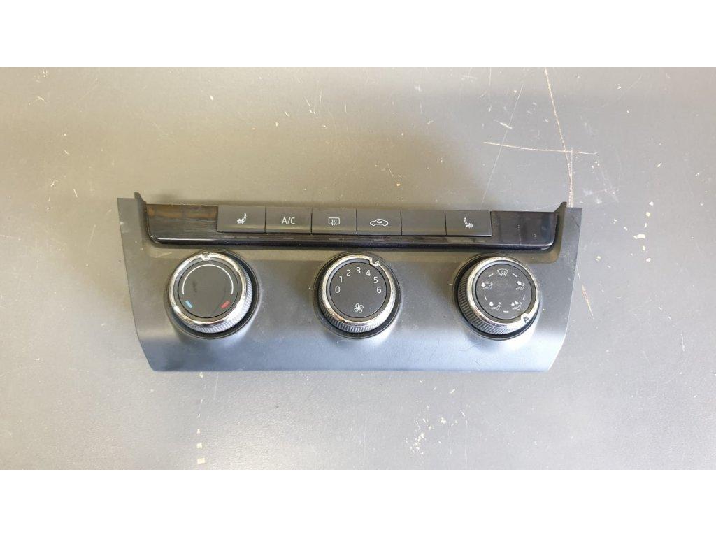 Ovládání topení Škoda Octavia III 5E0 820 047 E