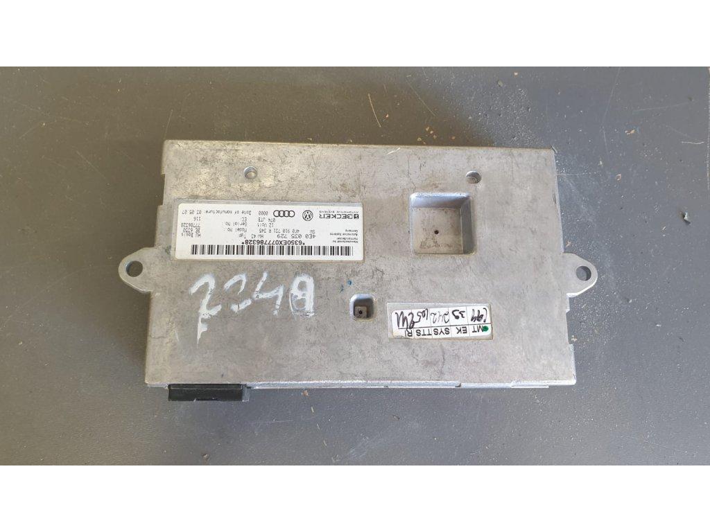 Schránka interface pro MMI 4E0035729 Audi A8