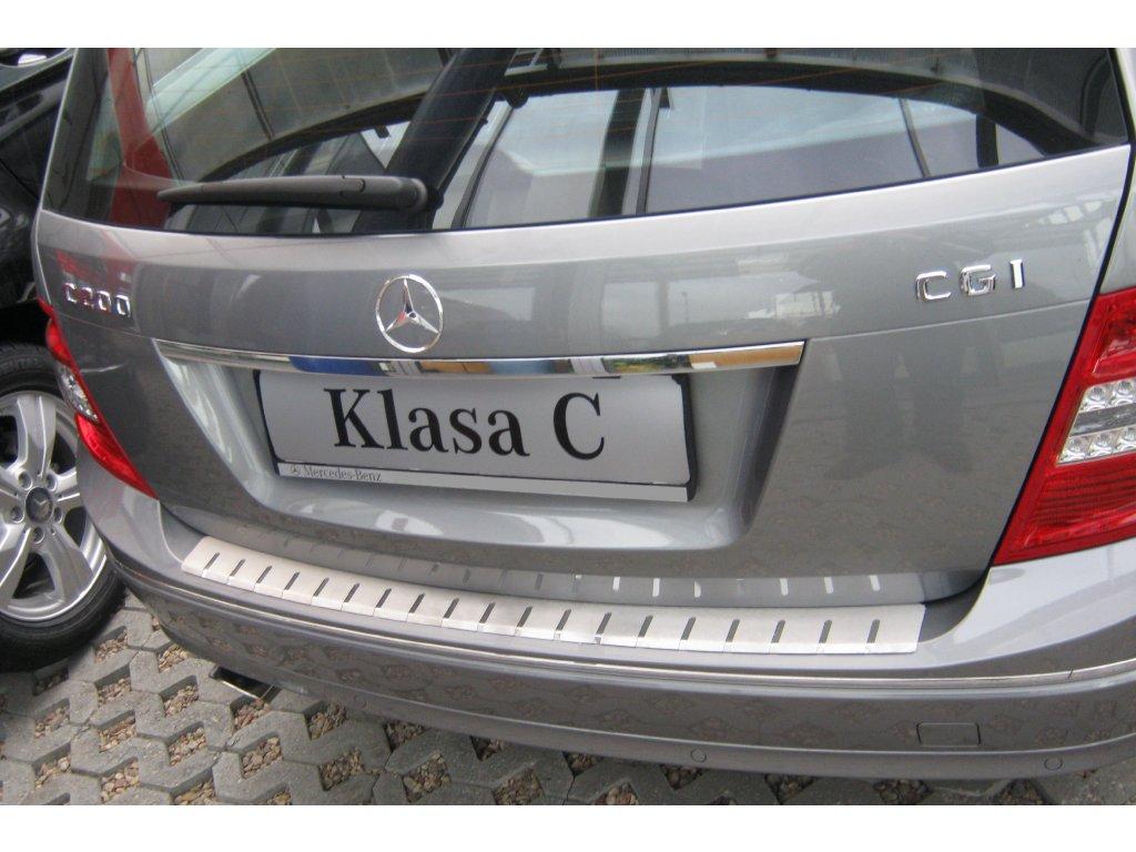 Alufrost Profilovaný prah kufra NEREZ - Mercedes C-CLASS W204 KOMBI FL 2010-2015
