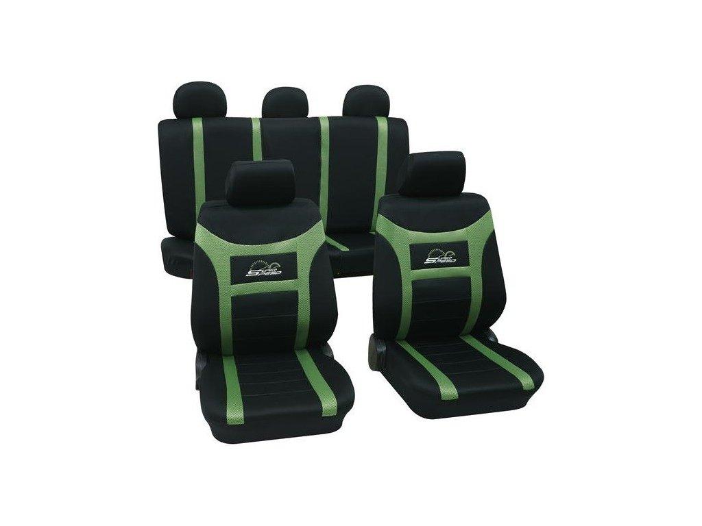 Autopoťahy SUPER-SPEED (zelene)
