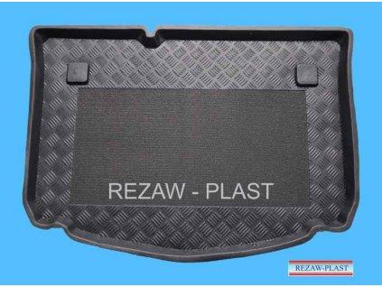 Plastová vanička s protišmykom do kufra REZAW - Citroen C3 HTB  2002-2009