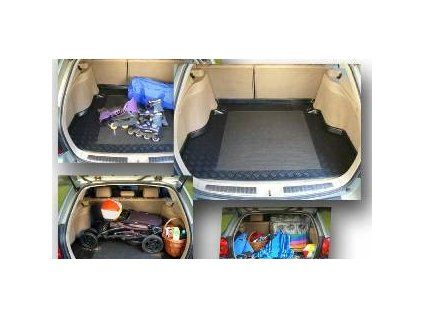 Plastová vaňa kufra s protišmykom REZAW - Nissan X-TRAIL DVODNO - HORNA  2014-
