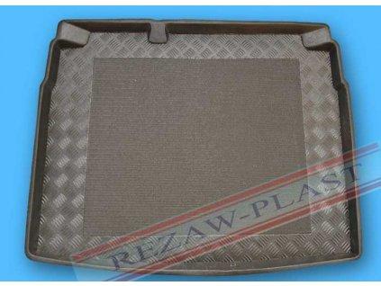Plastová vaňa kufra s protišmykom REZAW - Volkswagen GOLF VI. DOJAZDOVE KOLESO  2008-2012