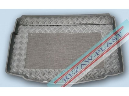 Plastová vaňa kufra s protišmykom REZAW - Volkswagen GOLF VII. DVOJDNO - DOLNA HB 2012-