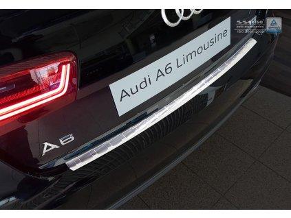 Nerezová lišta hrany kufra AVISA - Audi A6 KOMBI 2011-2018