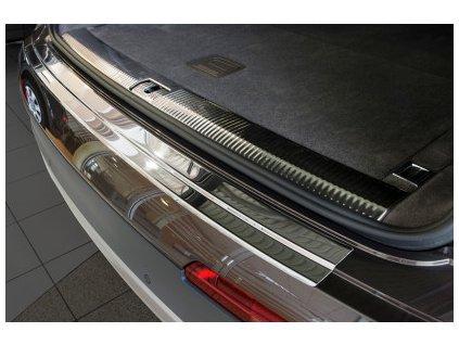 Nerezová lišta hrany kufra AVISA - Audi Q7  2015-