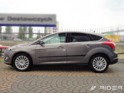 Ochranné lišty dverí - Ford FOCUS 5D 2011-2015