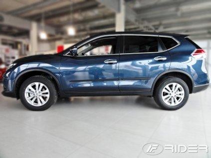 Ochranné lišty dverí - Nissan X-TRAIL III 2014-