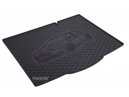 Gumová rohož kufra RIGUM - Ford Focus Hatchback Dojezdové kolo 2018-