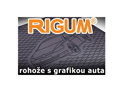 Gumová rohož kufra RIGUM - Hyundai I30  HTB 2012-2017