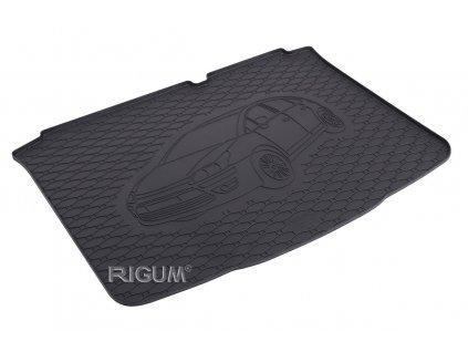 Gumová rohož kufra RIGUM - Citroen C4 2010-2011