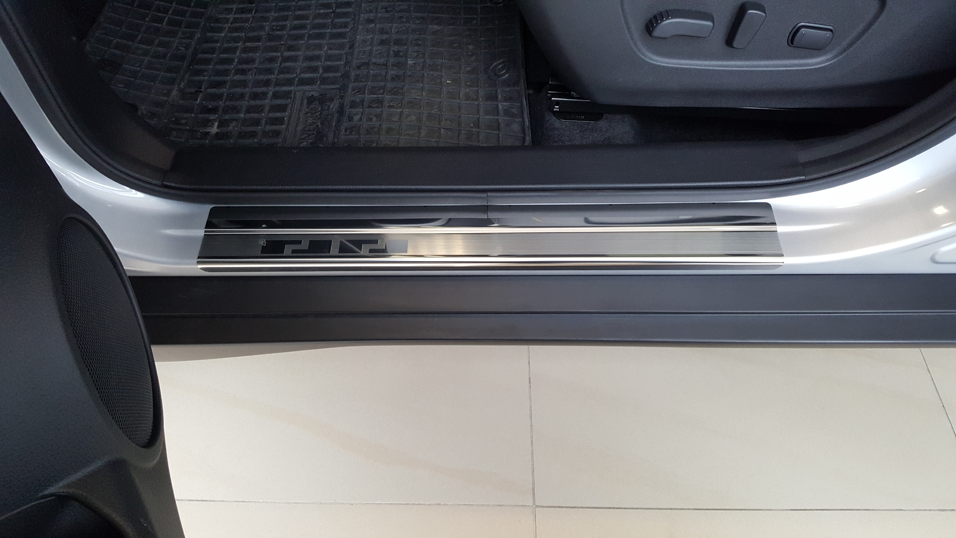 Alufrost Prahové lišty NEREZ - Nissan X-TRAIL (T32) 2014-