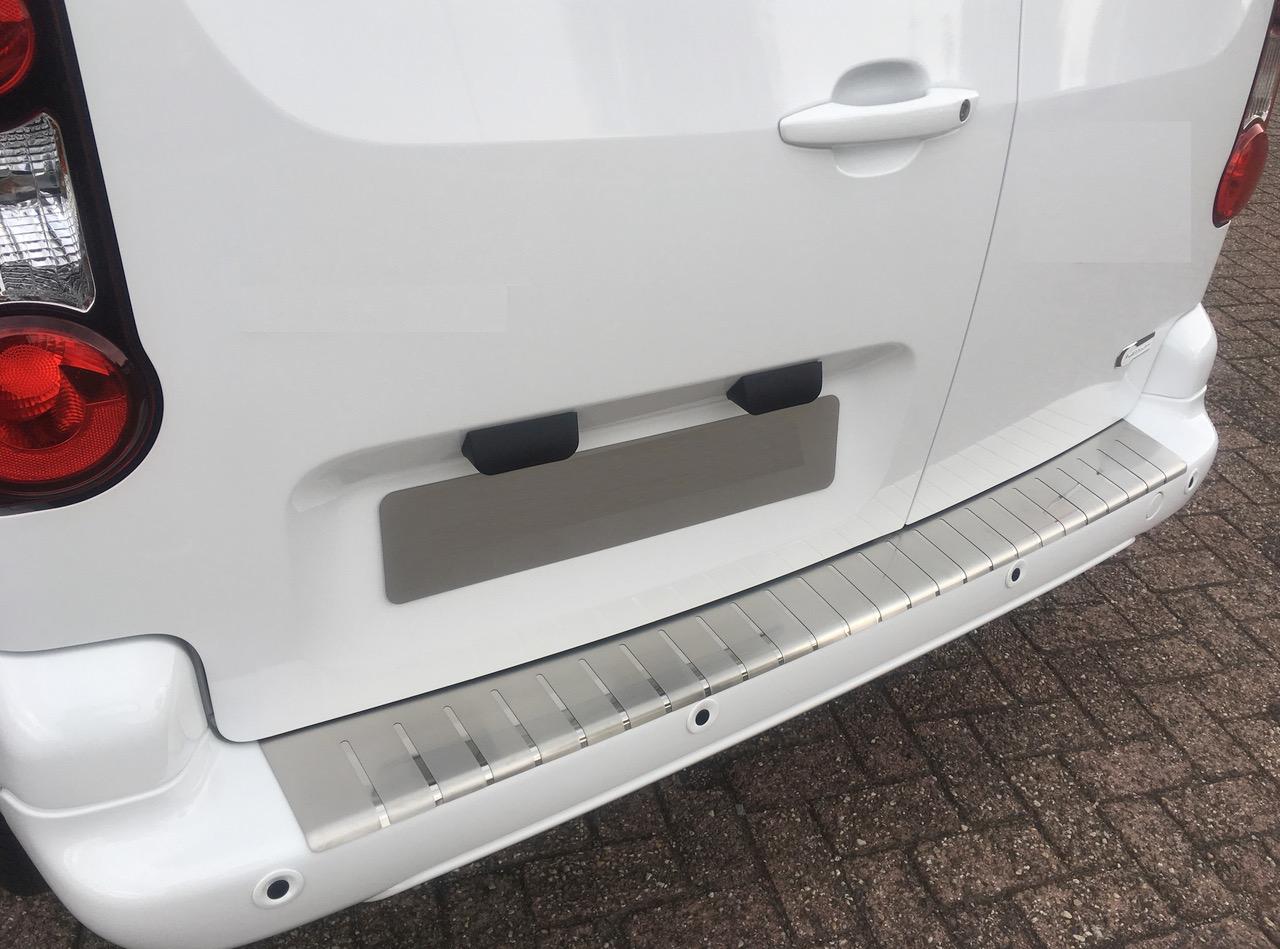 Alufrost Profilovaný prah kufra NEREZ - Peugeot PARTNER II 2008-2018