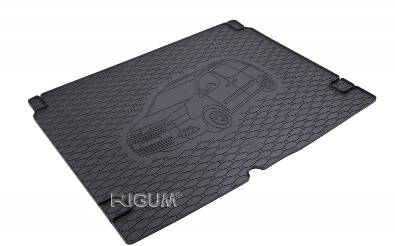 Gumová rohož kufra RIGUM - Citroen Berlingo 5m 2008-2018