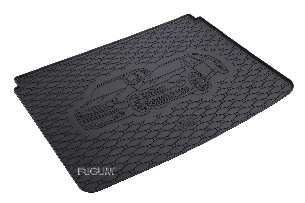 Gumová rohož kufra RIGUM - Fiat 500X 2014-