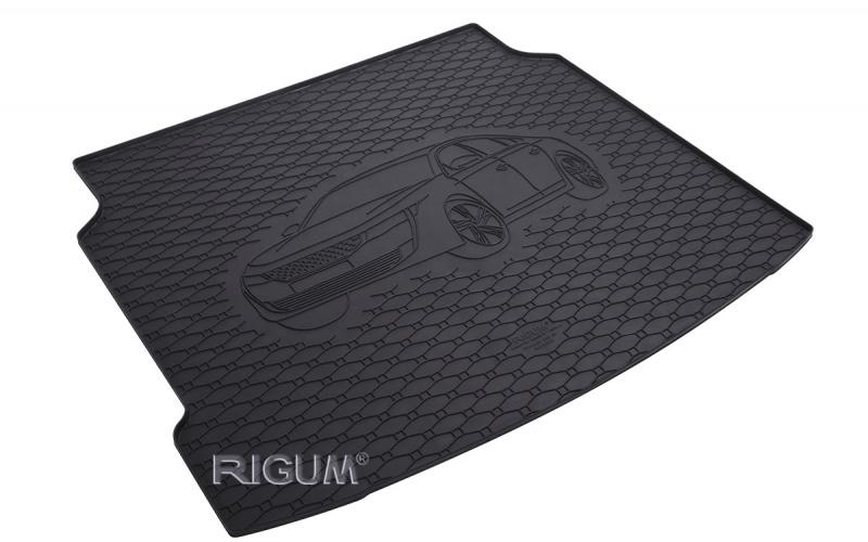 Gumová rohož kufra RIGUM - Peugeot 508 Fastback 2018-